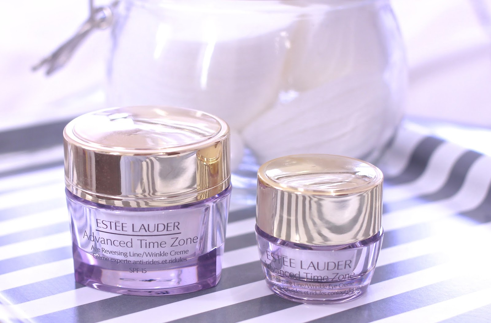 Como funciona o Creme Advanced Time Zone da Estee Lauder?